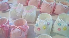 Baby Shower Favors  Serving Booties  Special by FeltedBagLady, $1.50