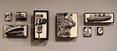 porcelain sgraffito boxes. cool by Todd Barricklow