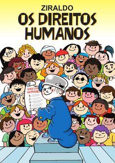 Esta cartilha une a Declaração Universal dos Direitos Humanos à Constituição Brasileira. Just Love Me, Love My Job, Early Childhood, Storytelling, Childrens Books, Comics, Kids, Power Points, Pll