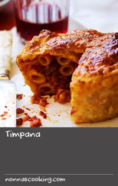 Timpana | This dish is Malta's answer to pasta pie. It is most likely Sicilian in origin, given the proximity of the two Mediterranean islands, however countless regional versions exist in Italy, where it is known as timballo. The basis for this home-style pie is macaroni, penne or other tubular-shaped pasta tossed in a stew made from several different meats, including beef and offal, then encased in puff pastry for an extra-hearty bake.