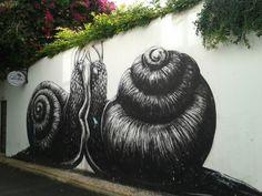 En centro de Lagos, Portugal