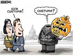 Sack cartoon: Republican Party   Star Tribune