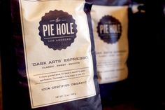 The Pie Hole - Love this design must go visit