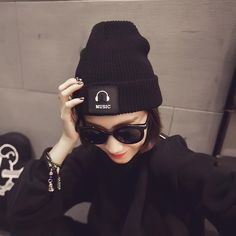 Fashion Music pattern Skullies Beanies Women Hat Knit Hat Female Cap Man Winter Hat For Women Beanie Unisex Pure Color Headgear #>=#>=#>=#>=#> Click on the pin to check out discount price, color, size, shipping, etc. Save and like it!