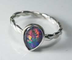 Opal Ring - Genuine
