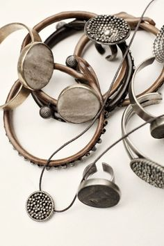 Hippie jewelry, copper. For more follow www.pinterest.com/ninayay and stay positively #inspired.