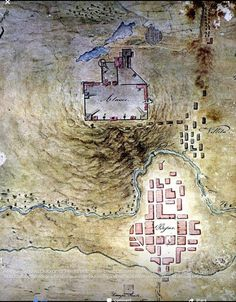 Topo map made by a Mexican Army Engineer.