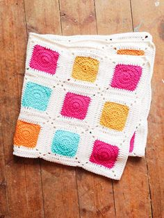 Frank&Olive Contemporary Baby Blanket PATTERN