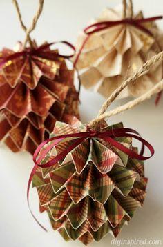 Cheery DIY Christmas Ornaments Ideas