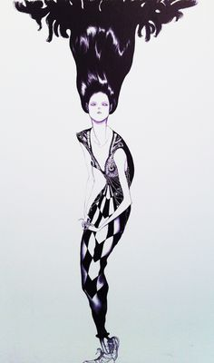 Laura Laine -  Courtesy of the artist #fashionillustration #illustration-pin it by carden