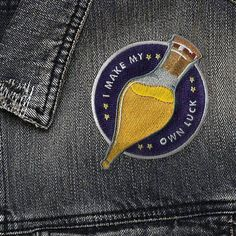 Liquid Luck Patch #pinsandpatches #patches