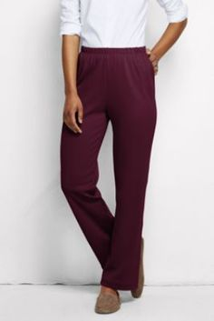 Women's Fit 3 Sport Knit Pants from Lands' End