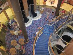 07/01 - Atrium Norwegian Sky Cruise, Atrium