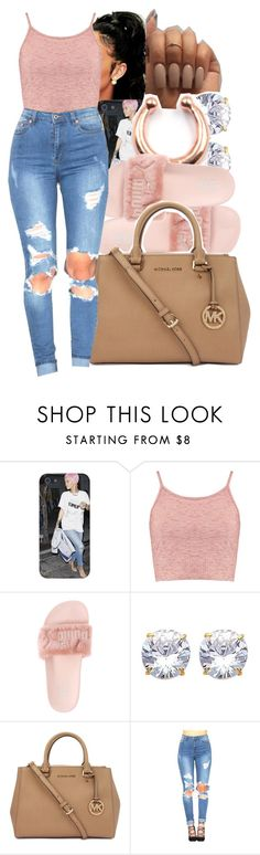rrh by yeauxbriana ❤ liked on Polyvore featuring Boohoo, Puma and Michael Kors