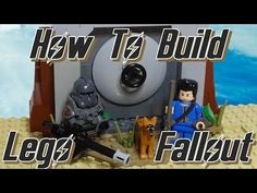 Learn how to build the main character from Fallout the Sole Survivor - with power armor, a vault suit, pip-boy and mini-gun! Star Wars Art, Lego Star Wars, Fallout 4 Videos, Fallout Power Armor, Fallout 4 Vaults, Lego Village, Pip Boy, Lego Videos, Lego Army