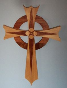 Beautiful crosses by Woodward Woodworks, made in Ypsilanti, MI