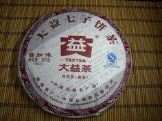 "Menghai Dayi Brand 2010 ""Pu Zhi Wei"" Ripe Pu-erh Tea - 357g Cakehttp://www.jas-etea.com/menghai-dayi-brand-2010-pu-zhi-wei-ripe-pu-erh-tea-357g-cake/"