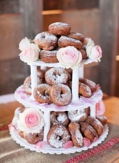25 reasons donuts are the new cupcake: http://www.stylemepretty.com/collection/3645/