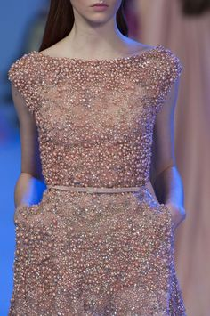 Elie Saab Haute Couture Spring 2014 - love that this has pockets!