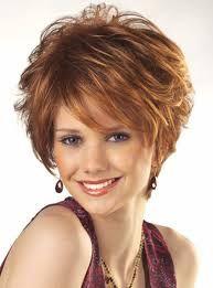 Resultado de imagem para short haircuts for thick wavy hair for women over 40