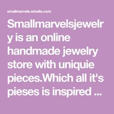 Smallmarvelsjewelry is an online handmade jewelry store with uniquie pieces.Which all it's pieses is inspired by the ancient Greek civilization and the Egypt civilization. Handmade Shop, Handmade Jewelry, Egypt Civilization, Ancient Greek, Jewelry Stores, Inspired, Inspiration, Biblical Inspiration, Handmade Jewellery