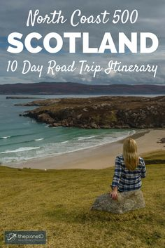 The complete 10 day road trip guide to exploring Scotland's North Coast 500 scenic route. From ocean lined cliffs, to castles, museums and more, this itinerary has it all! Best of travel in Europe. Voyage Europe, Europe Travel Guide, Backpacking Europe, Travelling Europe, Travel Uk, Travel Guides, Scotland Travel, Ireland Travel, Scotland Trip
