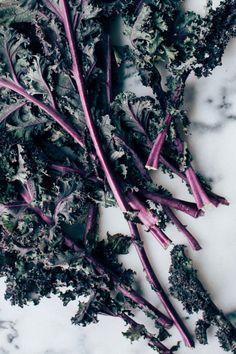 kale casear salad | www.foodess.com
