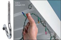Outdoor:How To Hang Christmas Lights Outside How To Hang Christmas Lights Outside Set The Hanger