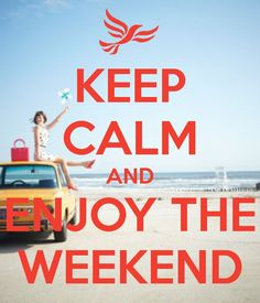 Хороших выходных, друзья!