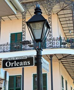 New Orleans lamp post