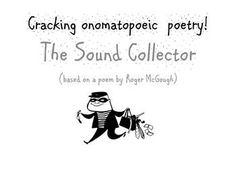 How to Write an Onomatopoeic Poem (power point and lesson plan - age 7 - Roger Mcgough, Pics For Dp, Writing Poetry, Differentiation, Teacher Pay Teachers, Teacher Newsletter, The Collector, Teaching Resources, Poems