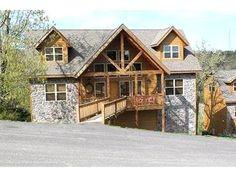 6 Bedroom Cabin Rental in Branson, Missouri, USA - Silver Buck Lodge Six Master Suites