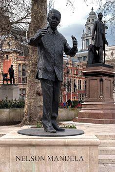 Daily Focus #23 Nelson Mandela Statue, Parliament Square. Photograph copyright Laurence Mackman. http://www.londonarchitectureblog.com/2013/04/daily-focus-23-nelson-mandela-statue.html