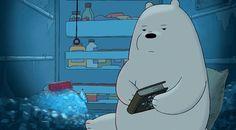 The three bears Ice Bear We Bare Bears, We Bear, New Love Pic, Panda Bear, Polar Bear, Cartoon Network, Bear Gif, We Bare Bears Wallpapers, Amazing Gifs