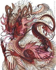 :::: PINTEREST.COM christiancross :::: Fu Dragon by beastofoblivion