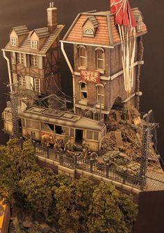 Dan Capuanos 1/35th WW2 Diorama ... #Diorama #Miniature #Model #ScaleModel #Vignettes
