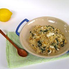 Spinach & Feta Couscous