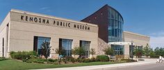 Kenosha Public Museum Exterior Photo - The Kenosha museum are great.  In the summer every Saturday they have a farmers market outside.  Working making a day trip out of this.