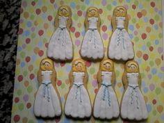 galletas niña comunión en glasa
