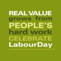 Celebrating the hard work of the people around us