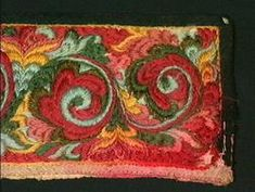 Skjorte, krage til - Norsk Folkemuseum / DigitaltMuseum Krage, Folk Costume, Costumes, Russian Folk Art, Folk Embroidery, Fashion History, Folklore, Norway, Needlework