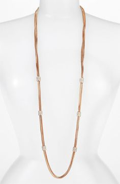 Vince Camuto Multistrand Necklace | Nordstrom  I got it at the Rack ...hehehe