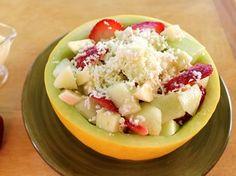 Ensalada de Frutas de Verano con Queso  #FruitSalad