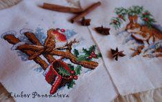 Cross Stitch Robin от LiubovPonomareva на Etsy