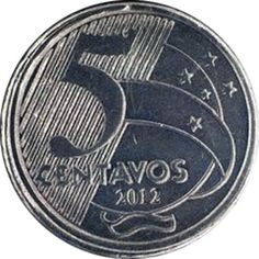 Moedas do Brasil - Séries Valuable Coins, World Coins, Hidden Treasures, Coin Collecting, Fountain Pen, Nostalgia, Bronze, Stamp, Personalized Items