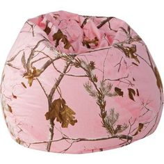 Camouflage Bean Bag Chair Rose Mossy Oak Camo Baby Stuff Pink