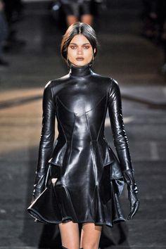 "leather-fashionista: "" Lather Fashion """