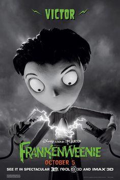 Victor from Tim Burton's 'Frankenweenie'