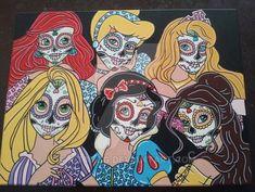 Disney Princess Sugar Skulls 2 by KITTYOG on DeviantArt