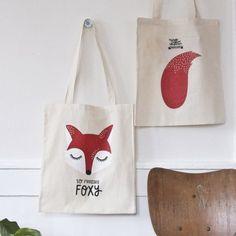 tote bag Foxy